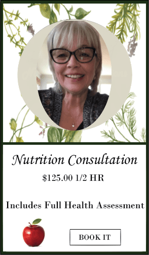 Nutrition Consultations with Val SALIVA + BLOOD