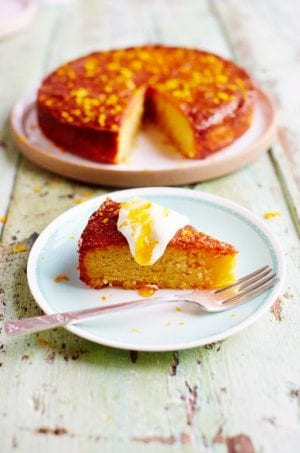 Gluten-Free: Orange and Polenta Cake (recipe)