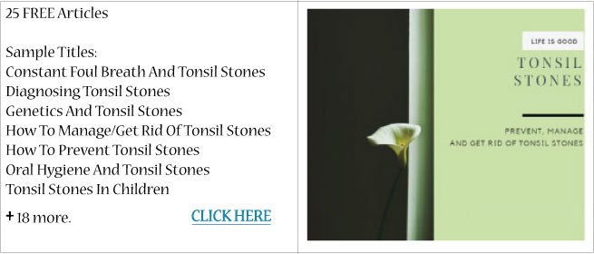 Tonsil Stones2 Programs