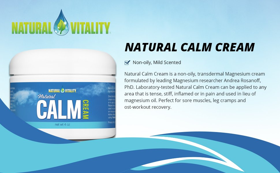 Natural Calm Magnesium Cream Calm Magnesium Cream
