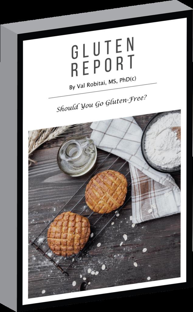 Gluten Report Cover Gluten-Free: Orange and Polenta Cake (recipe)