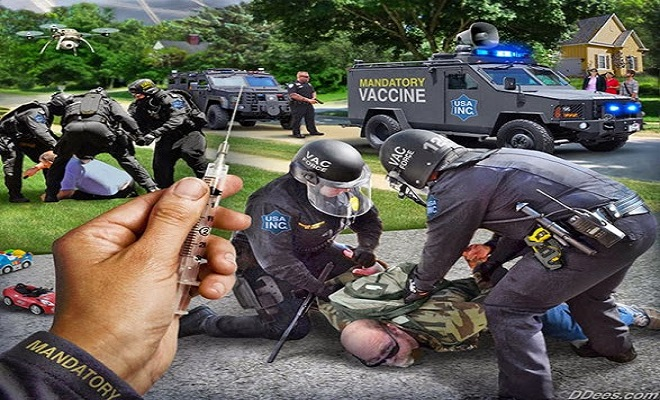 BREAKING: Rockland County NY Becomes America's First Vaccine Police State