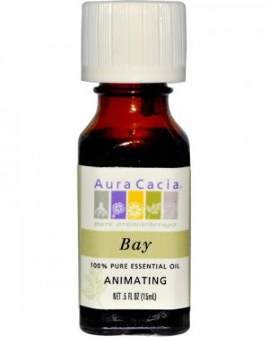 Aura Cacia Bay Essential Oil ROSEMARY ESSENTIAL OIL ORGANIC 1 OZ
