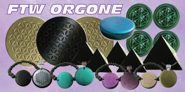 FTW Orgone banner4 5G/EMF Protection with Orgonite