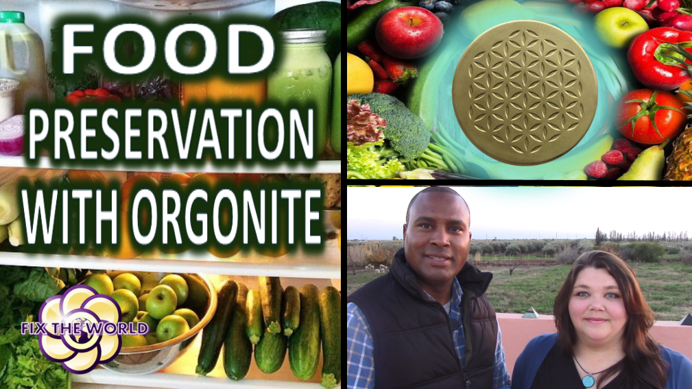 FOOD PRESERVATION WITH ORGONE ENERGY
