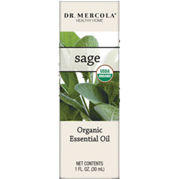 organic sage GERANIUM ESSENTIAL OIL 1 OZ