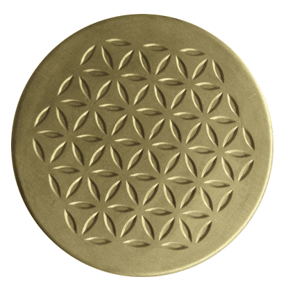 orgonite charging plate Bronze Orgone Charge Plates