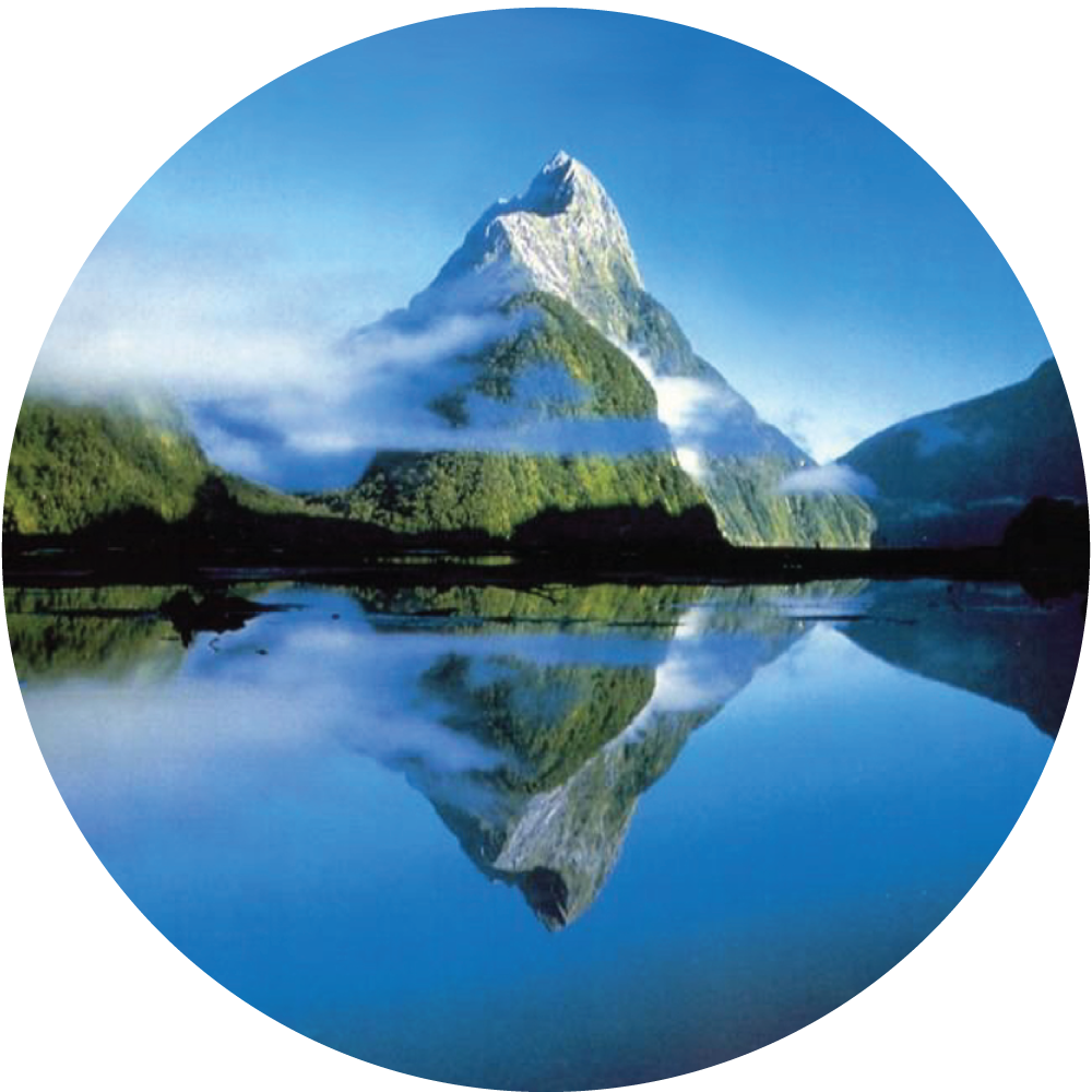 round mountain lake About Val
