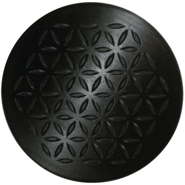 shungite orgonite charge plate 1 Black Shungite-Orgonite Charge Plates