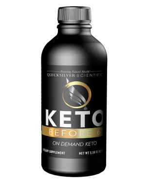 Keto Before 6 100ml Front Quicksilver Scientific