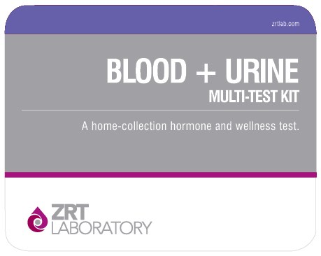blood plus urine kit image ZRT Lab Hormone Tests