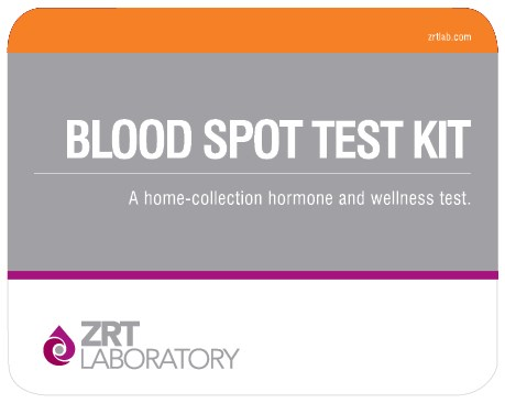 blood spot kit image ZRT Lab Hormone Tests