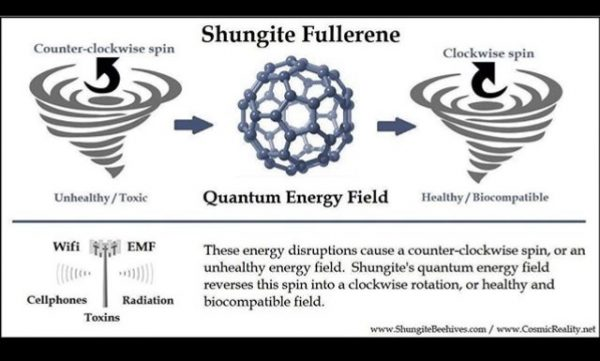 Shungite Fullerene 1 Orgonite Total Family Defense System