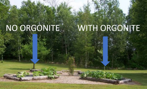 gardening with orgonite Orgonite Total Family Defense System