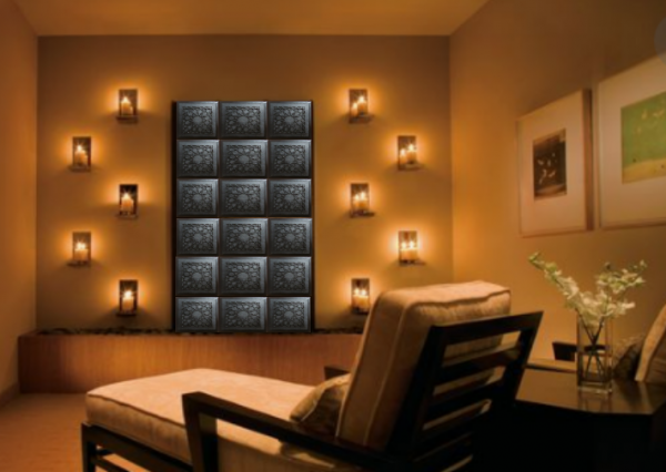 meditation room Beautiful Protective Shungite Orgonite Tiles | Moroccan Design