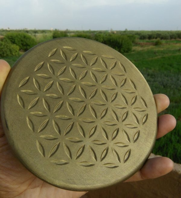 orgonite charging plate brass Orgonite Total Family Defense System