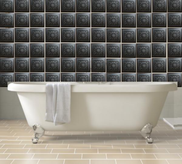 orgonite tile bathroom Beautiful Protective Shungite Orgonite Tiles   Moroccan Design