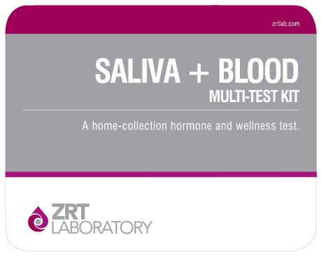 saliva plus blood kit image SALIVA + BLOOD
