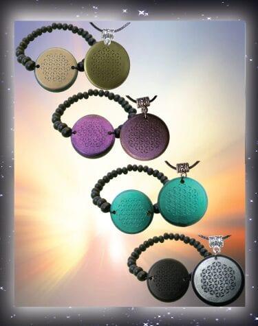 sets3 Orgonite Bracelet and Pendant Sets