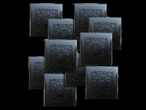 ten Tile design Beautiful Protective Shungite Orgonite Tiles   Moroccan Design
