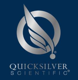 Quicksilver logo Nano Full Spectrum Hemp Ext 1.7 fl oz