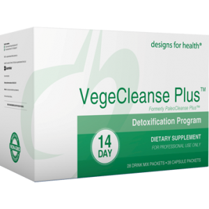 VegeCleanse Plus 14 Day Detox Kit Mix this with fresh orange juice every morning to flush nicotine out of your body