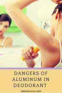 Danger of Aluminum in Deodorant Aluminum Chlorohydrate