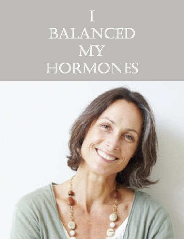 I balanced my hormones Female Comprehensive Profile