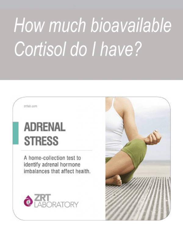 how much cortisol Adrenal Stress Test