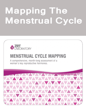 Mapping menstrual cycle SALIVA + BLOOD