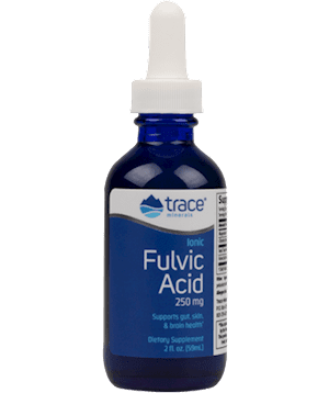 Ionic Fulvic Acid with ConcenTrace 2 oz From the CDC: COVID-19 Vaccine and Severe Allergic Reactions