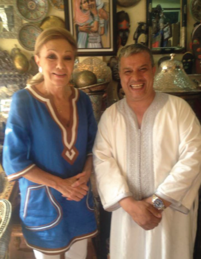 Abdullah and lady Morocco