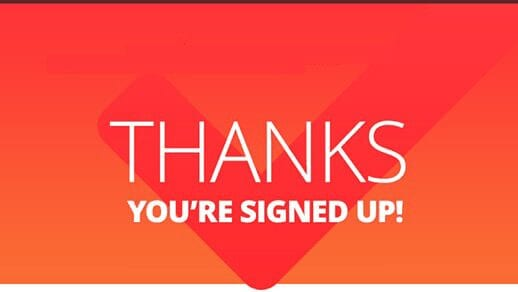 Thanks Thank You For Signing Up - Marzouk Marrakech