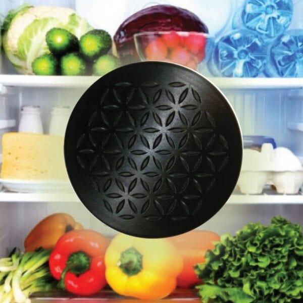 preserving food Black Shungite Orgonite Charge Plates