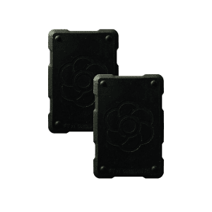 2 black shields Orgonite Phone Shields