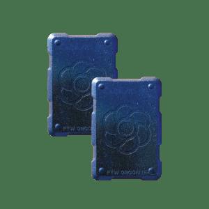 2 shields Orgonite Phone Shields