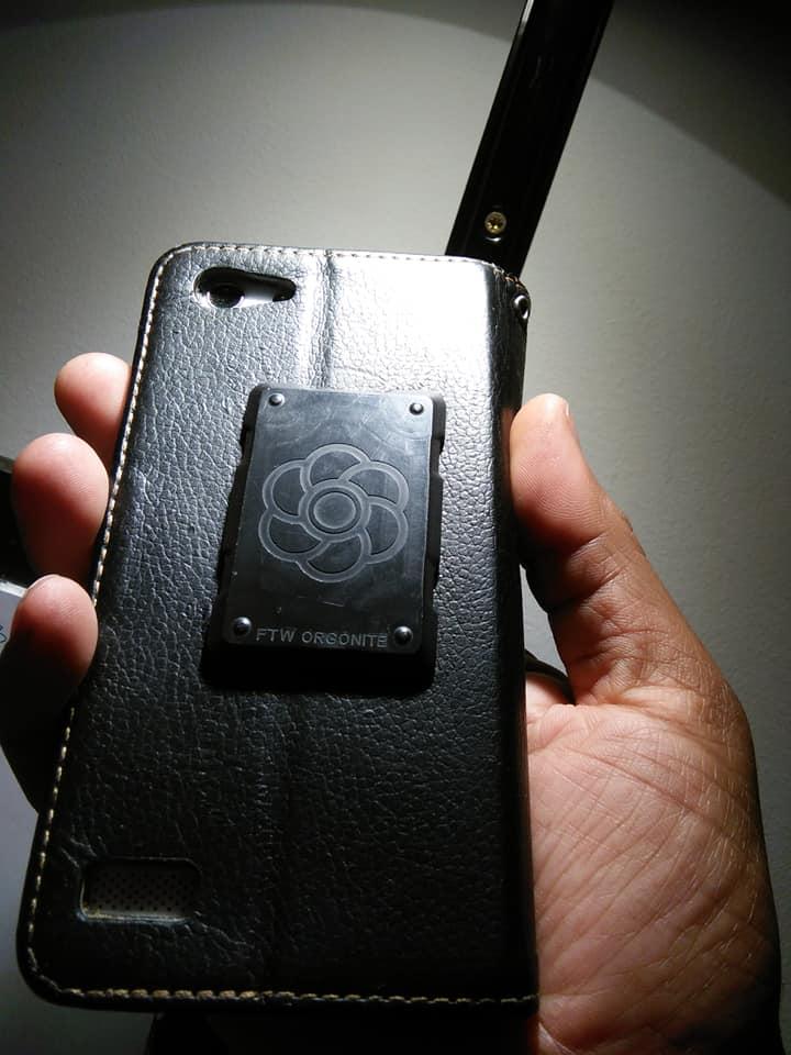phone shields Shungite Orgonite phone shields for EMF protection (video)