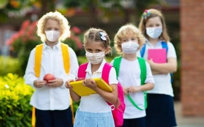Masks causing lung cancer? It's criminal to force children to wear masks all day