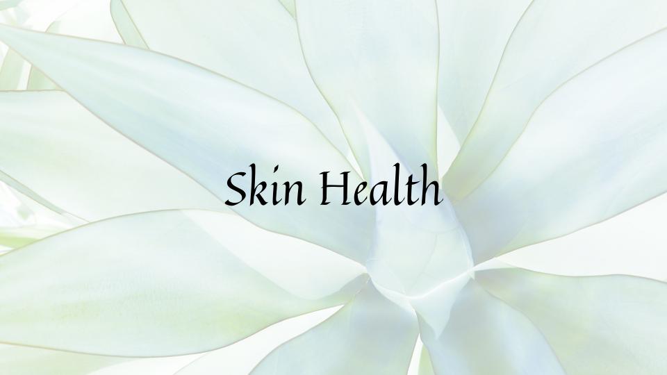 skin health food plan