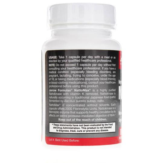 label 2 Nattokinase 100 mg 90 vegcaps